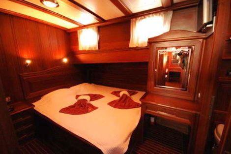 Yacht MIKADO -  Guest cabin
