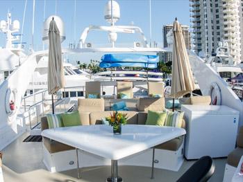 Yacht MIRACLE - Flybridge
