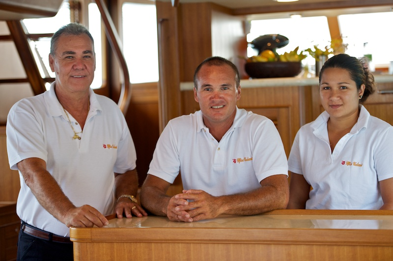 Yacht MISS KULANI -  Your Crew