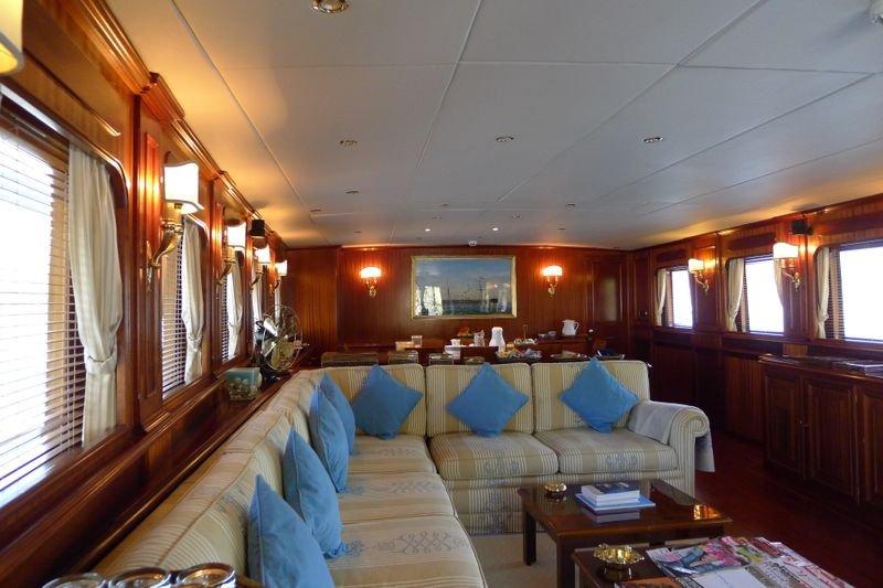 Yacht MIZAR -  Salon Seating
