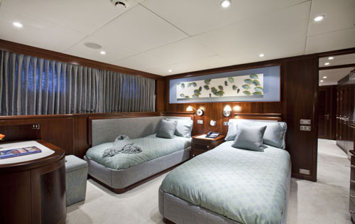 Yacht MONTE CARLO -  Guest Twin Cabin
