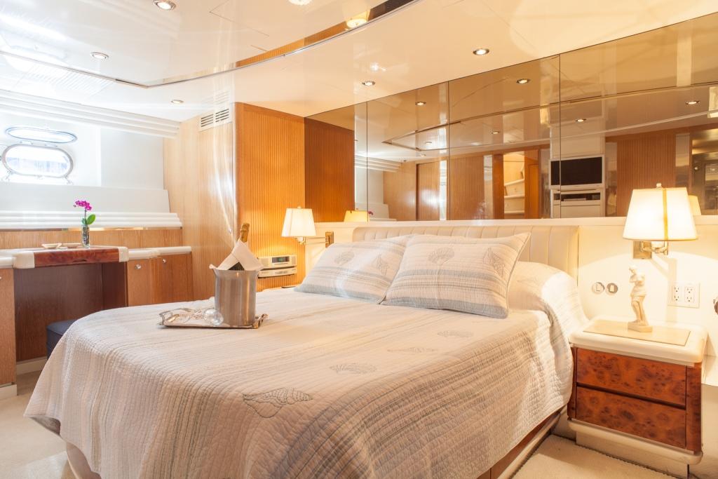 Yacht MOONDANCE - Master Cabin