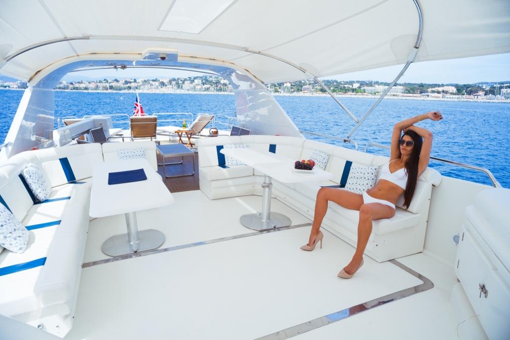 Yacht MOONDANCE - Sundeck