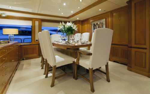 Yacht NEW STAR -  Formal Dining 2