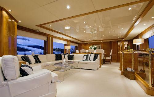 Yacht NEW STAR -  Main Salon