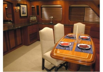 Yacht NORDFJORD -  Dining