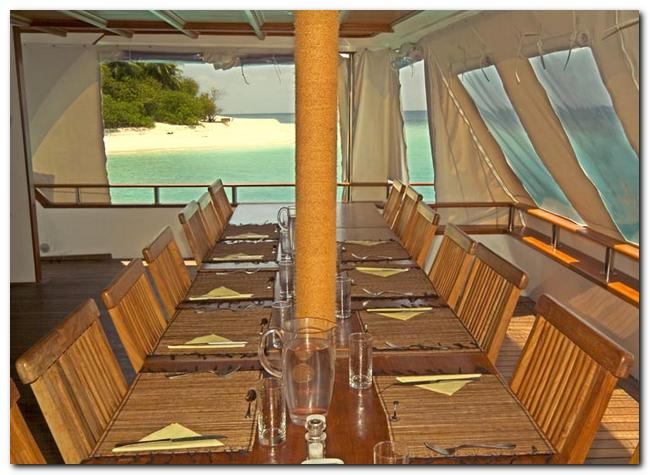 Yacht OCEAN DIVINE -  Al Fresco Dining