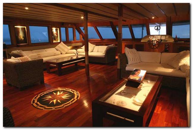 Yacht OCEAN DIVINE -  Salon 2