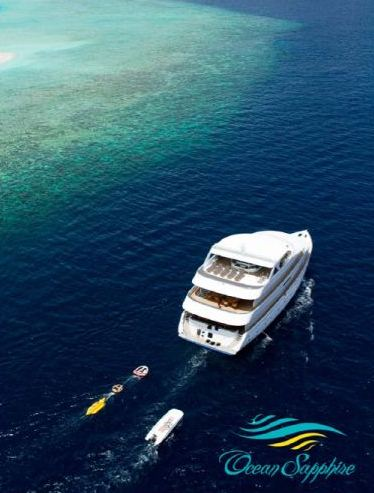 Yacht OCEAN SAPPHIRE -  From Above