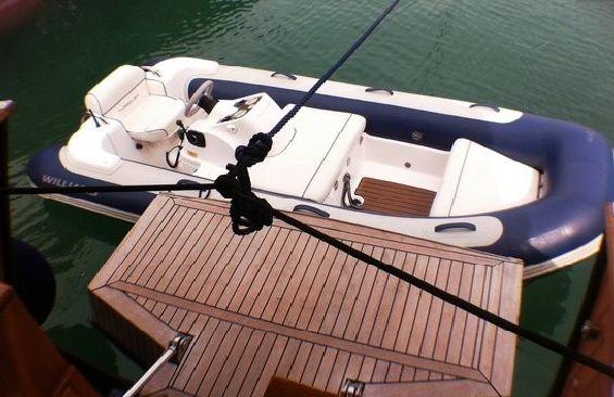 Yacht OLD DREAM -  Swim Platform