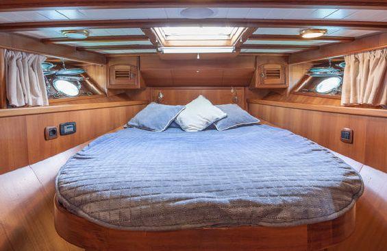 Yacht OLD DREAM -  VIP Cabin