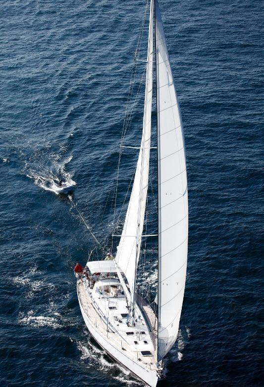 Yacht OLIVIA LEE -  Sailing 2
