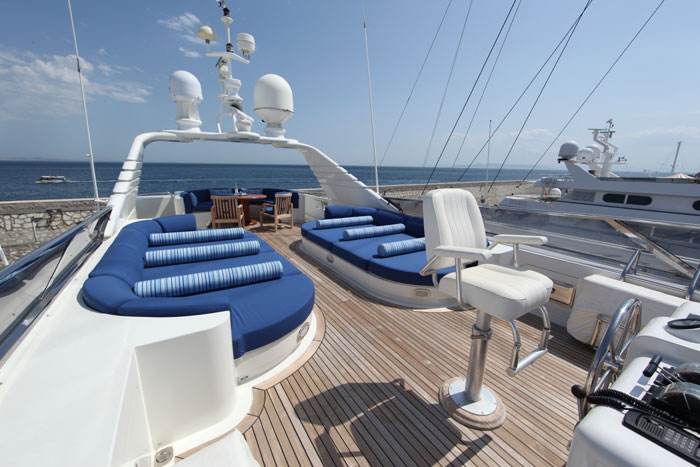 Yacht OPARI -  Sundeck