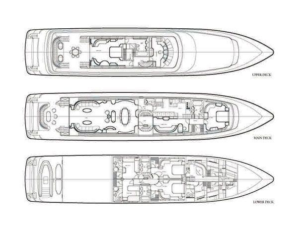 Yacht OPARI - Layout 2