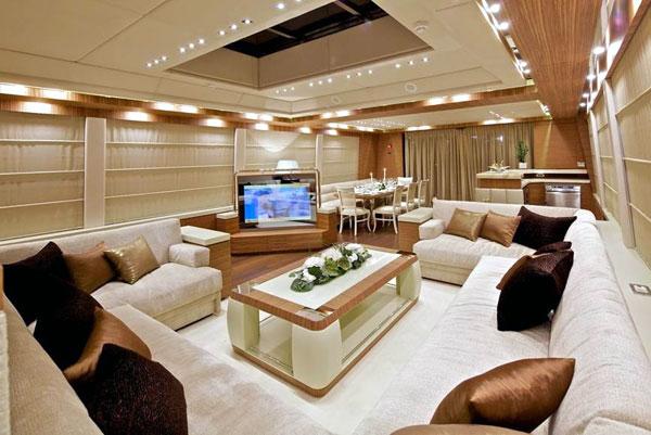 Yacht OPATI -  Main Salon