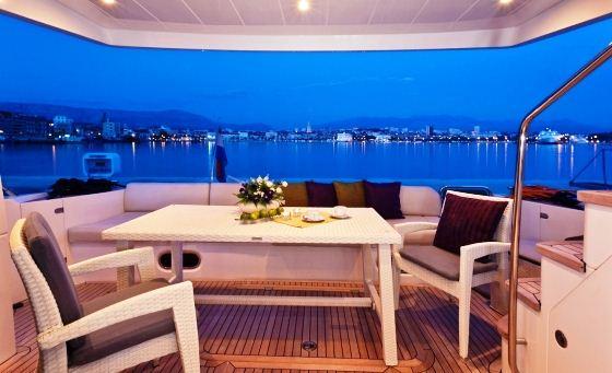 Yacht PAMANGO -  Aft deck
