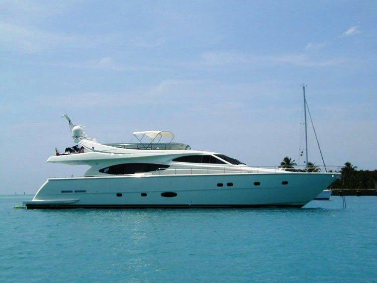 Yacht PAMPERO -  Main