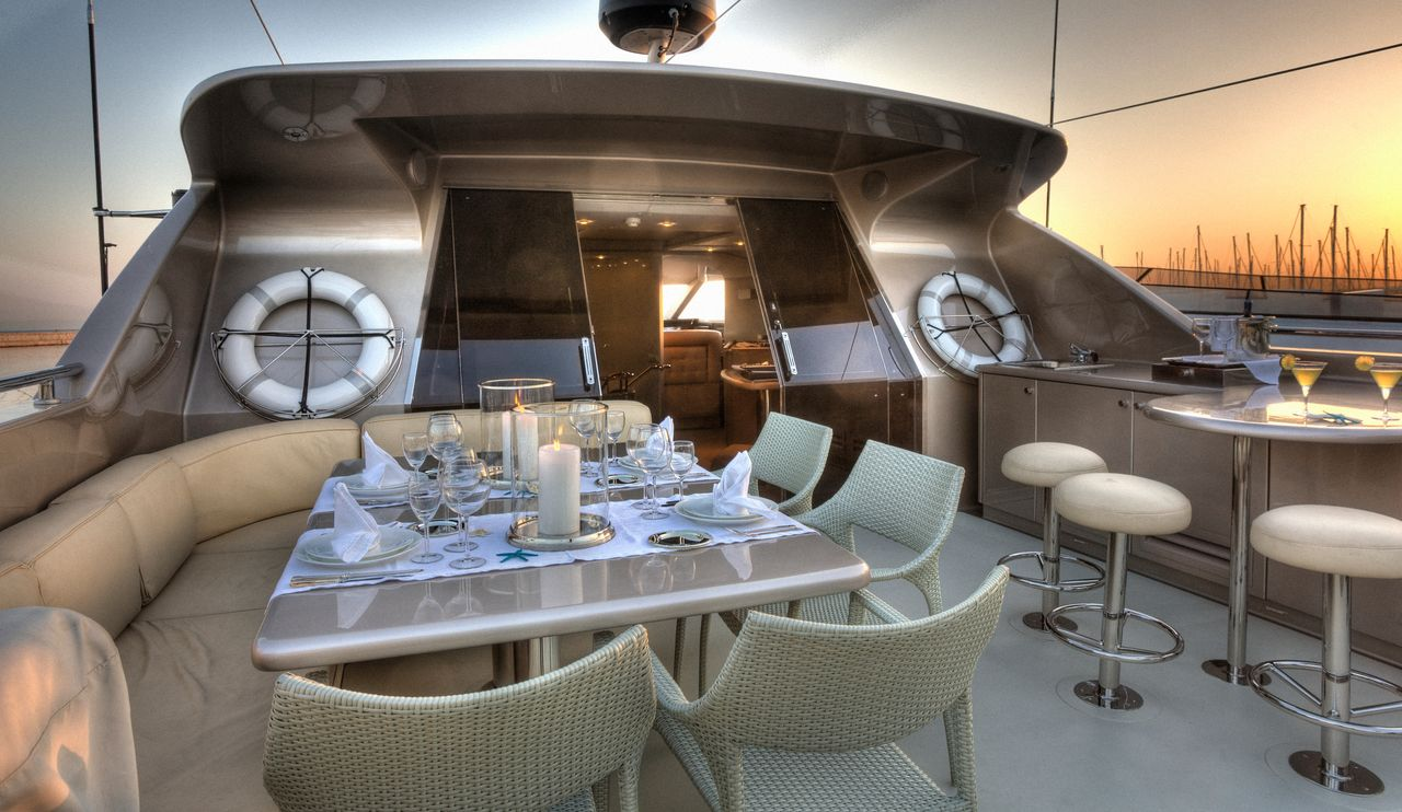 Yacht PANDION - Sundeck