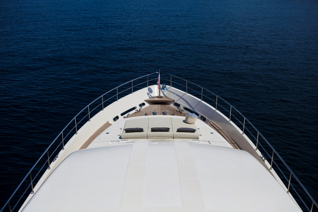 Yacht PERPETUAL -  Bow