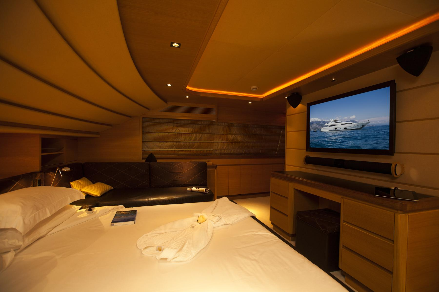 Yacht PERPETUAL -  Master Cabin