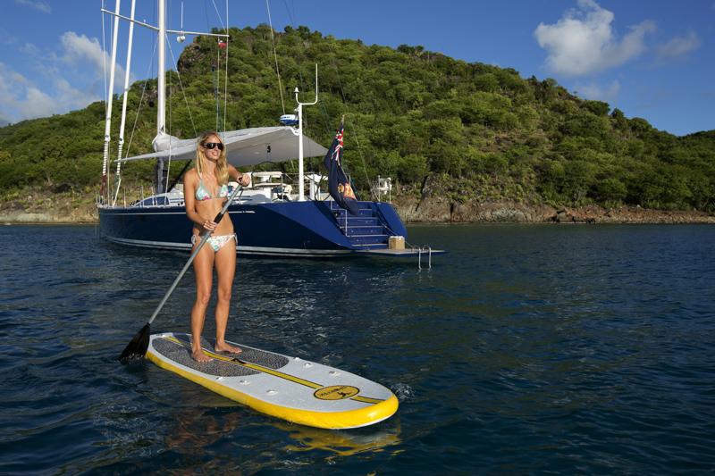 Yacht PTARMIGAN -    Enjoying the water sports