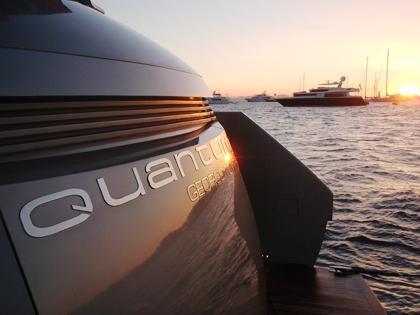 Yacht QUANTUM -  Transom
