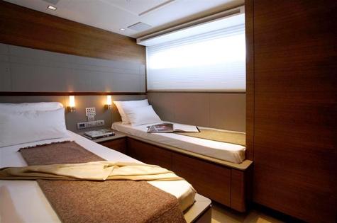 Yacht QUANTUM -  Twin Cabin