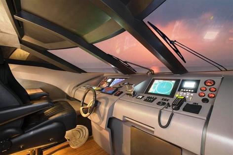 Yacht QUANTUM -  Wheelhouse