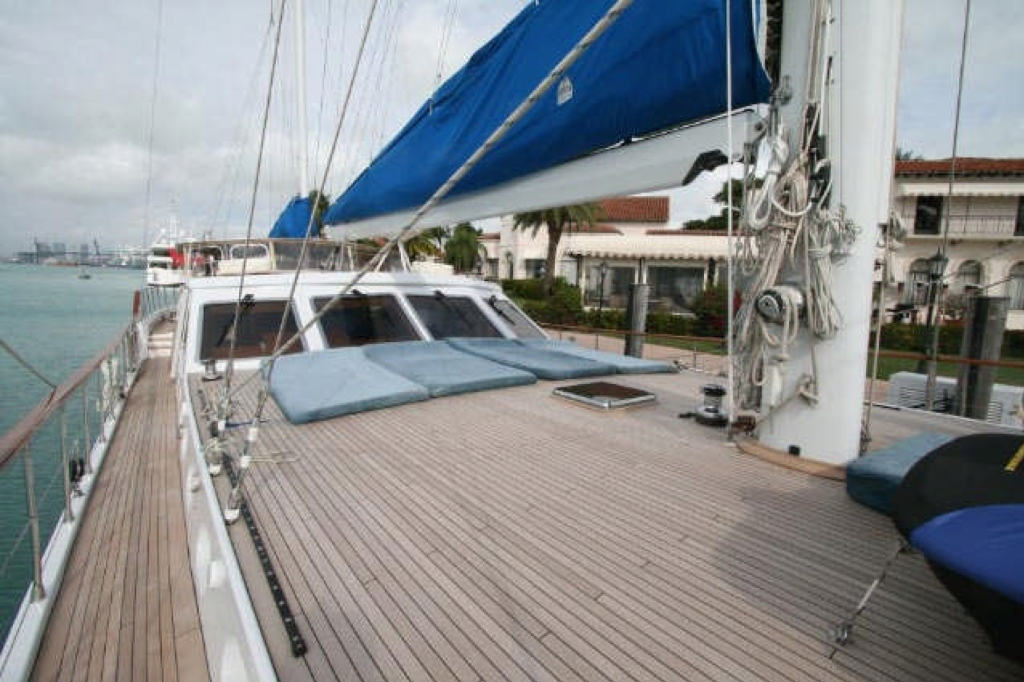 Yacht QUEEN SOUTH III -  Foredeck