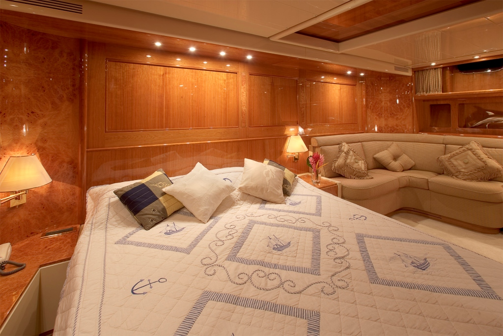 Yacht QUEEN SOUTH III -  Master Cabin 2