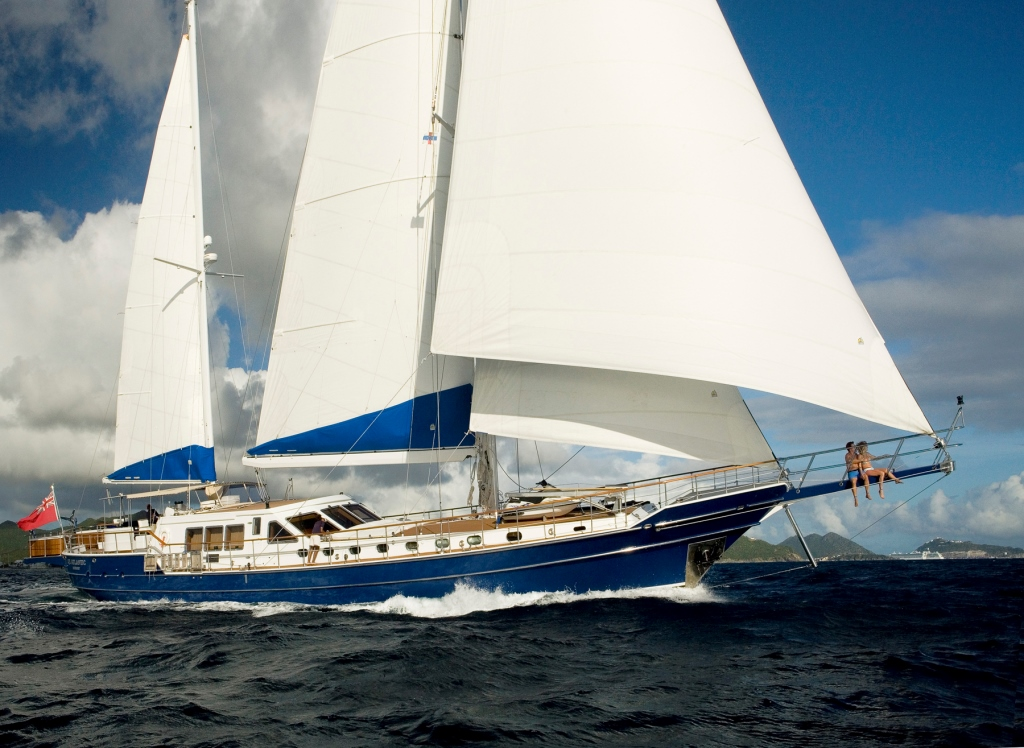 Yacht QUEEN SOUTH III -  Sailing