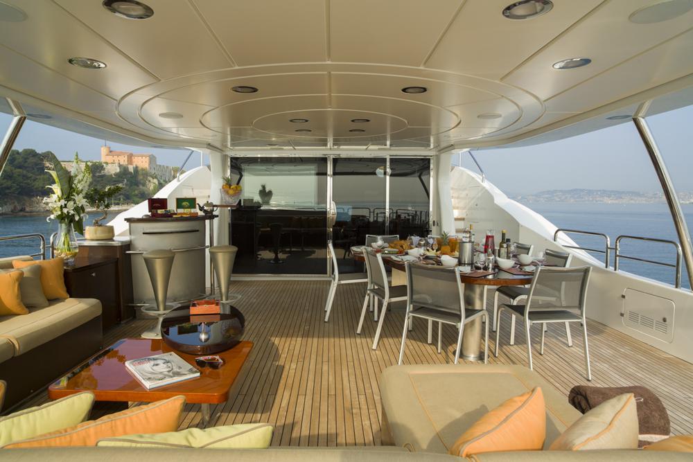 Yacht QUID PRO QUO -  Bridge Deck