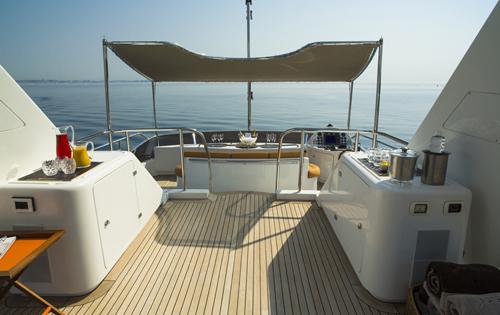 Yacht QUID PRO QUO -  Sundeck