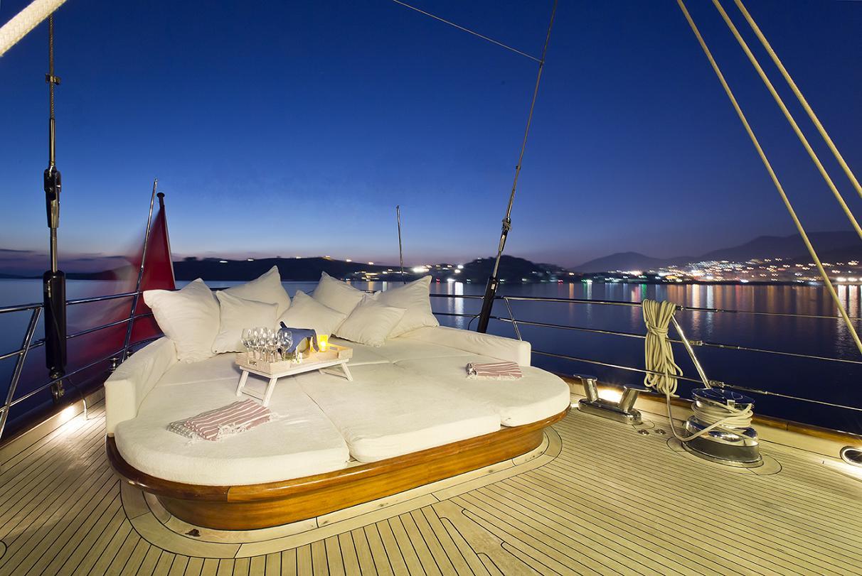 Yacht REGINA - Aft Deck