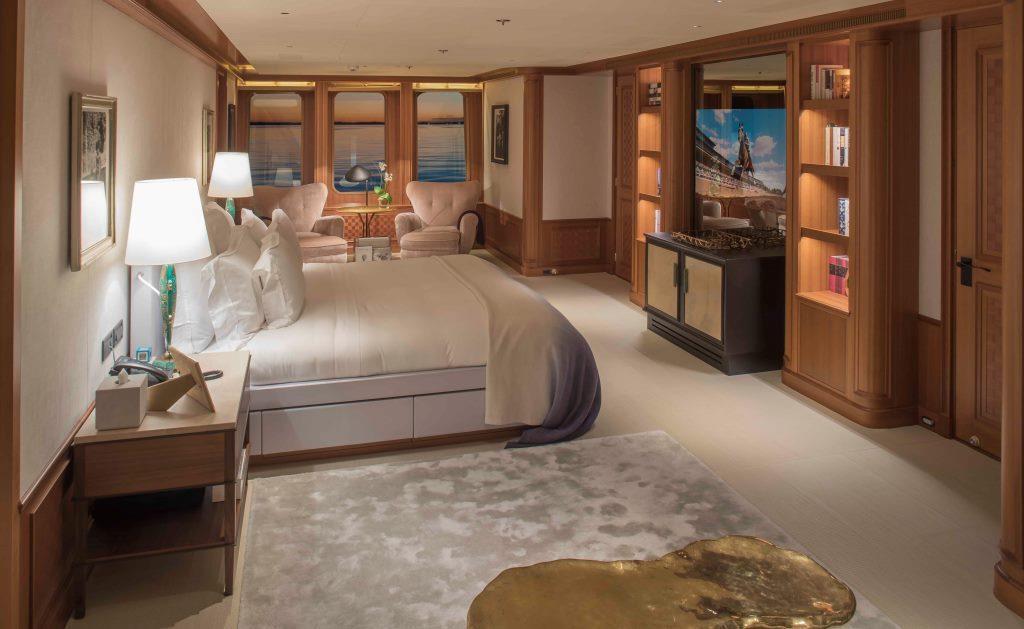 Yacht SAMADHI - Master suite