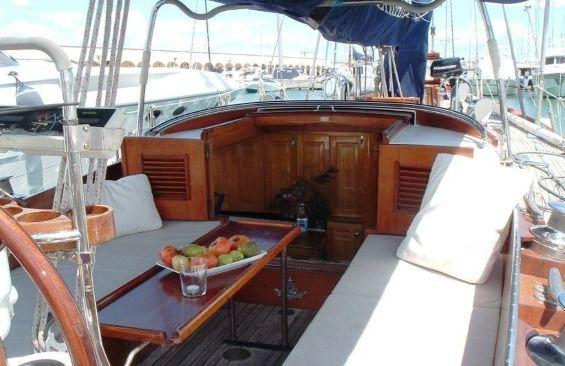 Yacht SAMARKAND -  Aft Cockpit