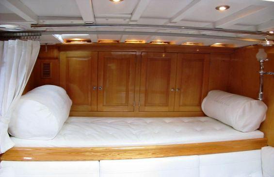 Yacht SAMARKAND -  Master Cabin