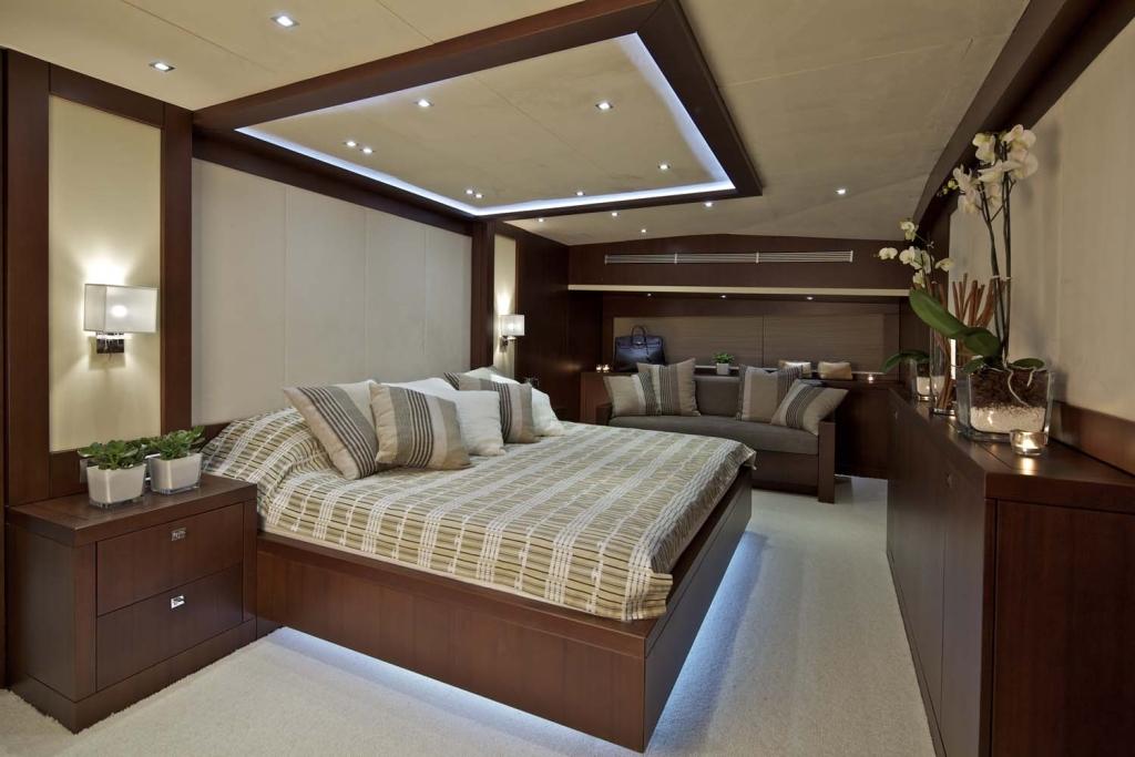 Yacht SANJANA -  Master Cabin