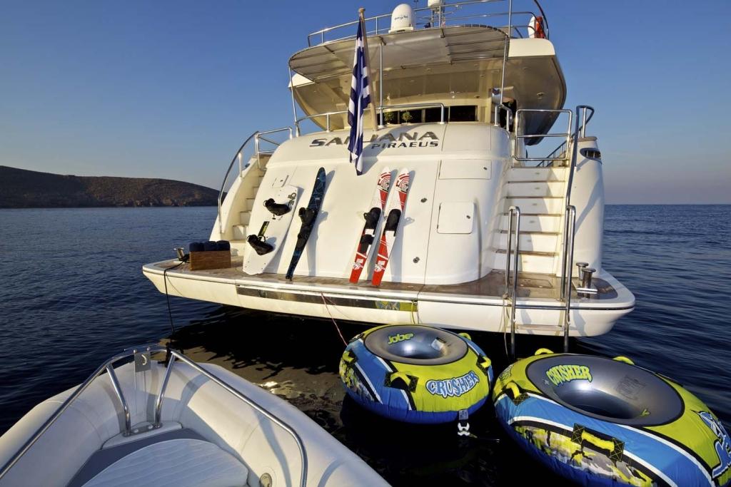 Yacht SANJANA -  Tenders and Toys