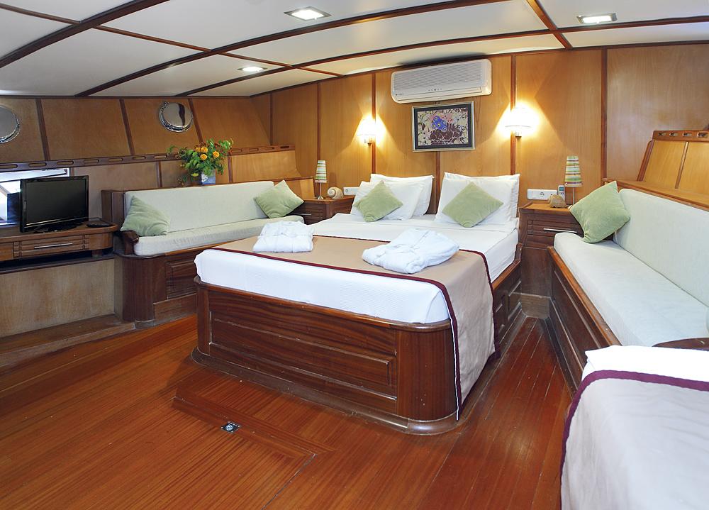 Yacht SARAYLI  I - Master Cabin 2