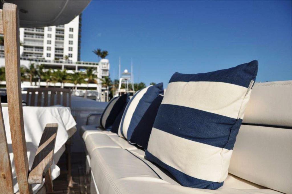 Yacht SAYANORA -  Aft Deck