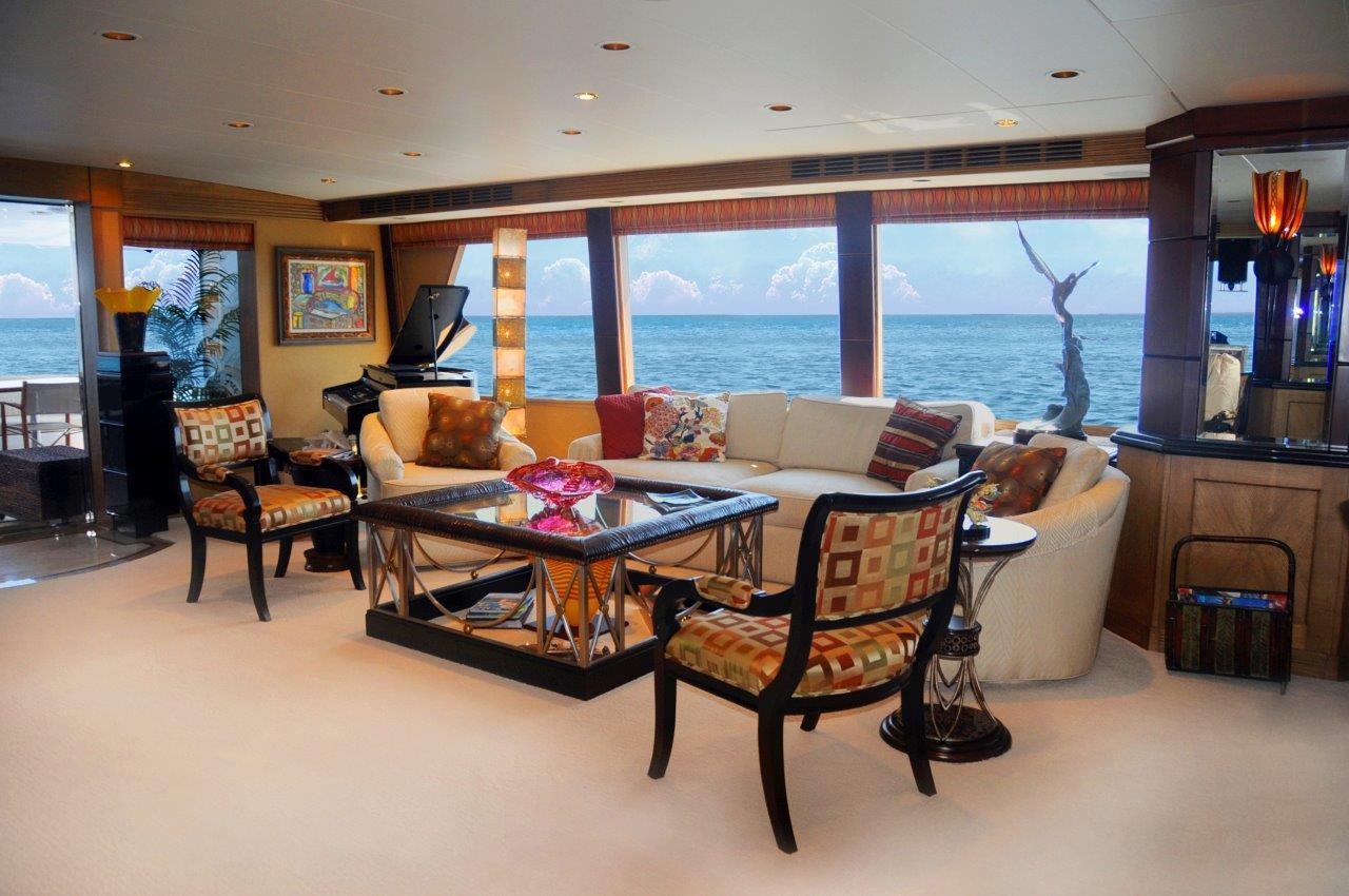 Yacht SCOTT FREE -  Salon