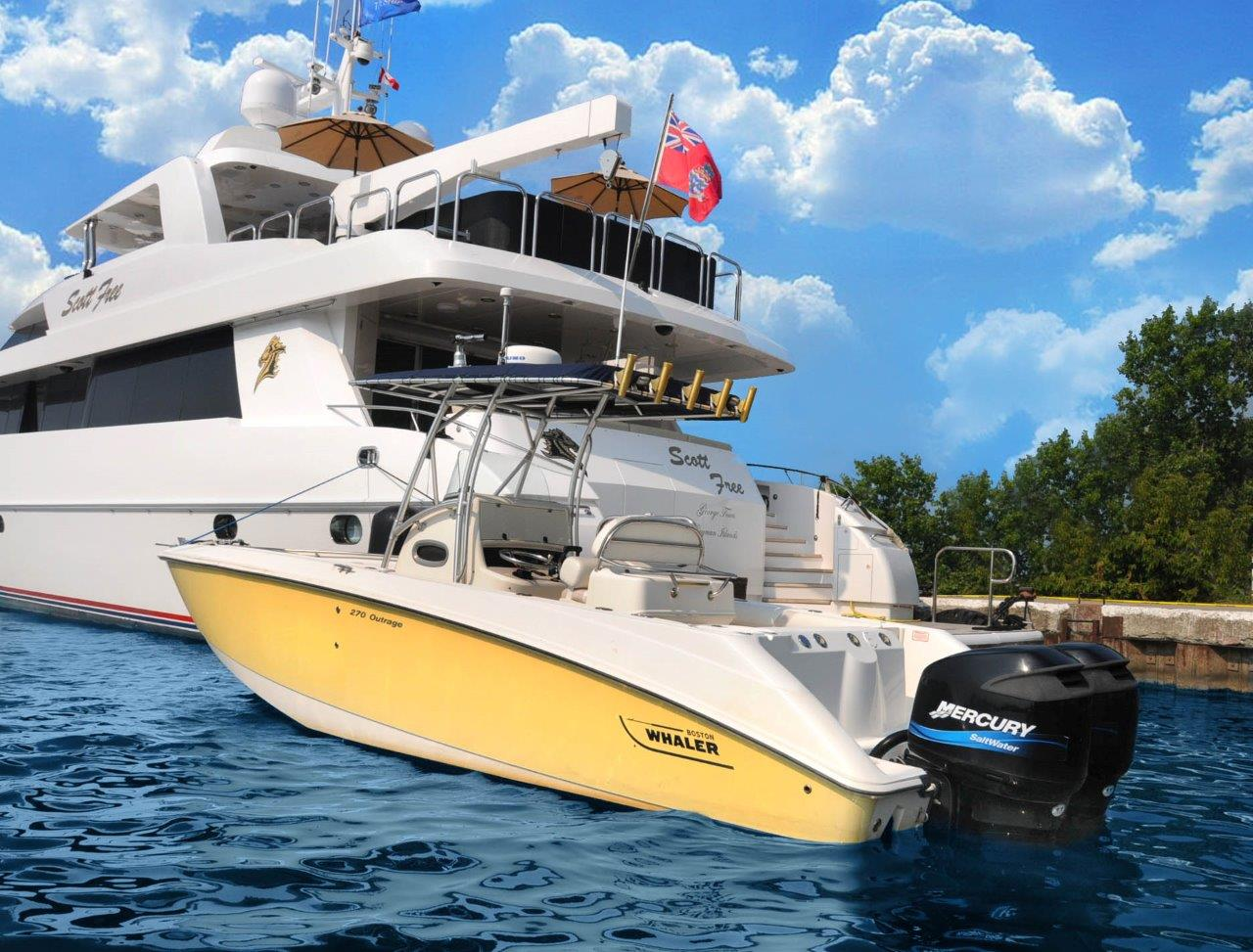 Yacht SCOTT FREE -  Yacht and Tender