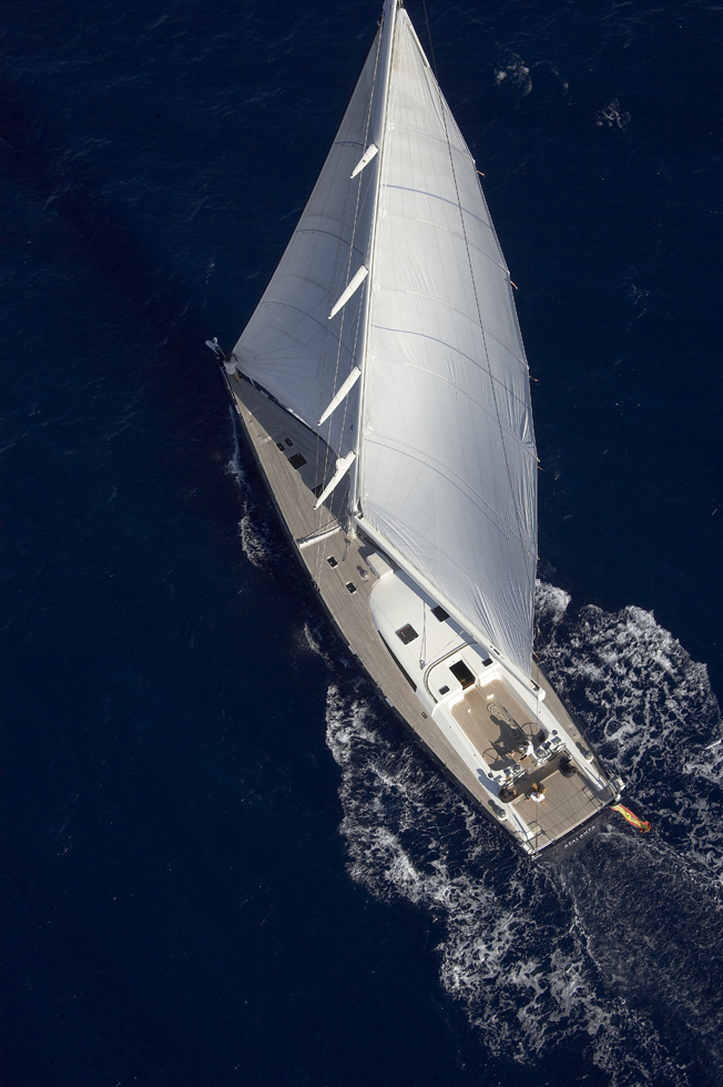 Yacht SEJAA -  From Above 2