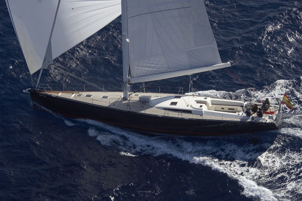 Yacht SEJAA -  From Above