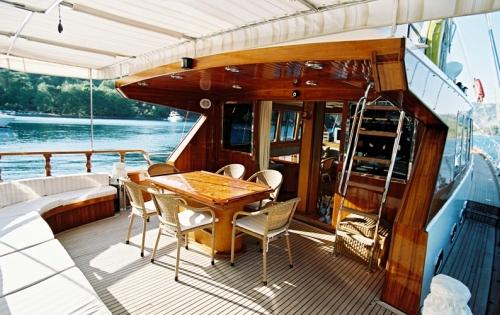Yacht SERENITY 70 -  Aft Deck