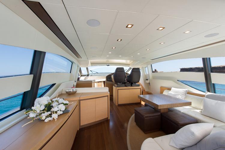 Yacht SHALIMAR 22m - Salon