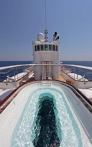Yacht SHERAKHAN -  Swimming Pool