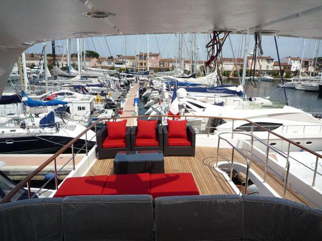 Yacht SILVER FOX -  Flybridge