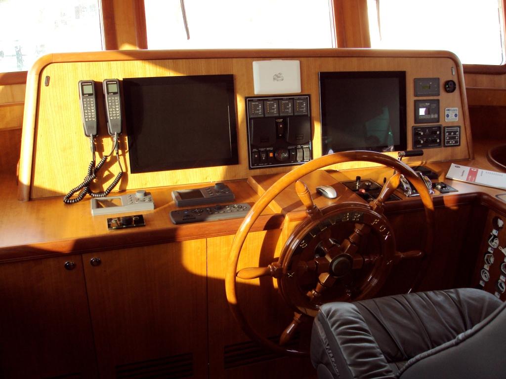 Yacht SILVER FOX -  Helm